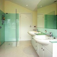 Shower screen and splashback