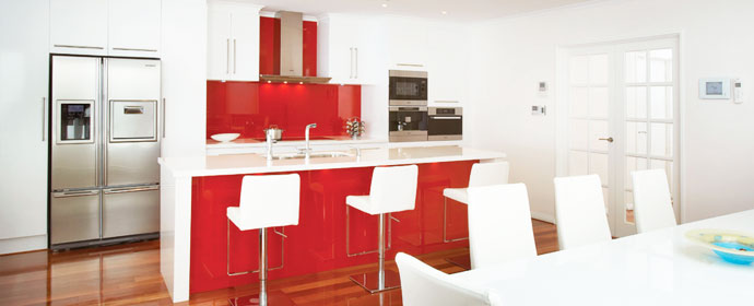 red-splashback